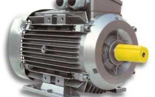 Схема включения трехфазного асинхронного двигателя