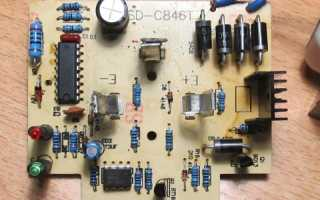 Ремонт зарядных устройств для аккумуляторов шуруповерта