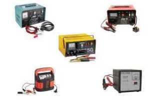 Характеристики зарядного устройства для автомобильного аккумулятора