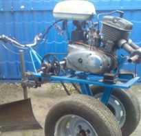 Самодельный мотоблок с двигателем