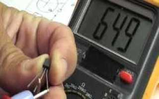 Проверка в схемах режимов транзисторов