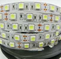Светодиодная лента в профиле на потолок