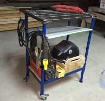 Стол для сборки металлоконструкций