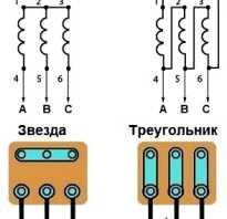 Подключение 3 фазного электродвигателя