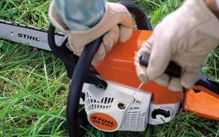 Как намотать пружину на стартер бензопилы