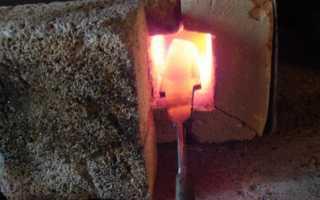 Как нагреть металл в домашних условиях