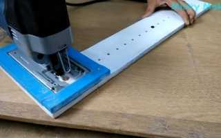 Как вырезать круг из фанеры без лобзика