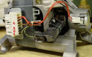 Как запустить двигатель от старой стиральной машины
