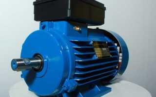 Однофазный электродвигатель 220в схема подключения