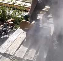 Как пилить бетон болгаркой