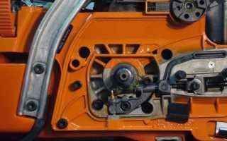 Регулировка подачи масла на бензопиле штиль