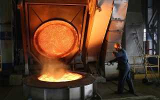 Плавильные печи для металла