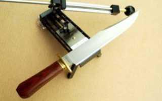 Размер точилки для ножей своими руками