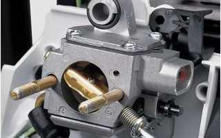 Как правильно отрегулировать карбюратор на бензопиле штиль