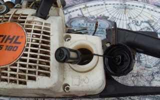 Почему глохнет бензопила на холостых оборотах