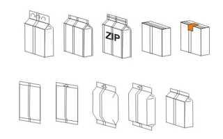 Упаковочная линия для сыпучих продуктов