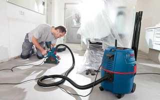 Мощный строительный пылесос без мешков