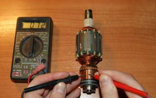 Как проверить обмотки электродвигателя тестером видео