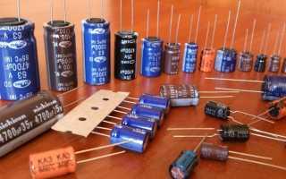 Проверка пленочного конденсатора мультиметром