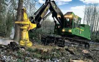 Машина для пилки леса