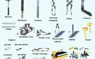 Ручной инструмент для обработки металла