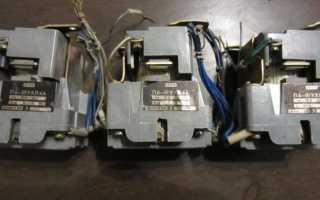 Пускатель электромагнитный 380в схема подключения фото