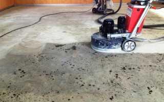 Оборудование для шлифовки бетонного пола