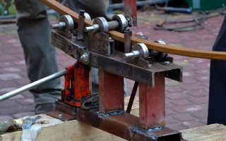 Как сделать вальцы для профильной трубы