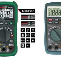 Измерение постоянного тока мультиметром
