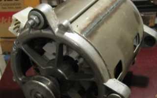 Как уменьшить обороты двигателя от стиральной машины