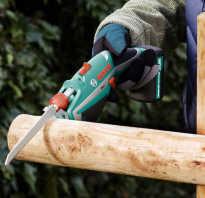 Аккумуляторные ножовки по дереву