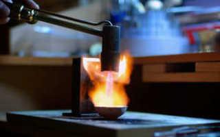 Серебро температура плавления и кипения