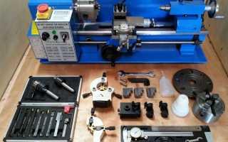 Обзор настольных токарных станков по металлу