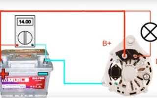 Проверка щеток генератора мультиметром