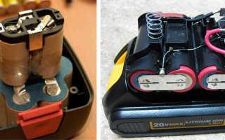 Как восстановить аккумулятор шуруповерта 18 вольт
