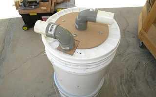 Самодельные циклоны для пылесосов из металлического ведра