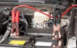 Как зарядить аккумулятор не снимая с машины