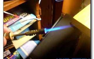 Как и из чего сделать газовую горелку