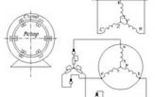 Принцип работы трехфазного асинхронного электродвигателя