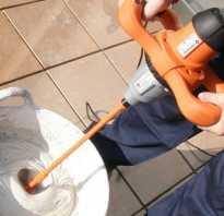 Миксер насадка для цементных растворов