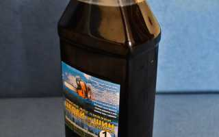 Расход масла для смазки цепи бензопилы