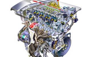 Принцип работы четырехтактного дизельного двигателя