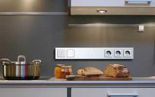 Как расположить розетки на кухне схема