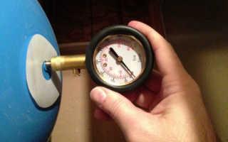 Какое давление в гидроаккумуляторе 50 литров джилекс
