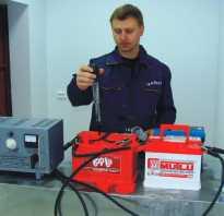 Норма плотности электролита в аккумуляторе