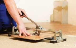 Как правильно отрезать кафельную плитку