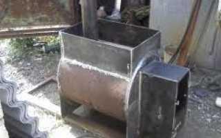 Чертеж печки для бани из металла