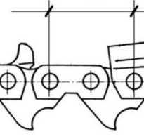 Как измерить шаг цепи бензопилы