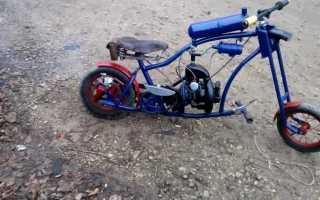 Трицикл из бензопилы своими руками