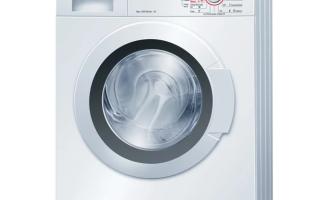 Какая стиральная машина бош самая лучшая